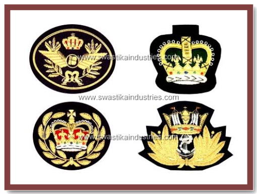 Best Hand Embroidery Badges, Military Hand Embroidery Badges